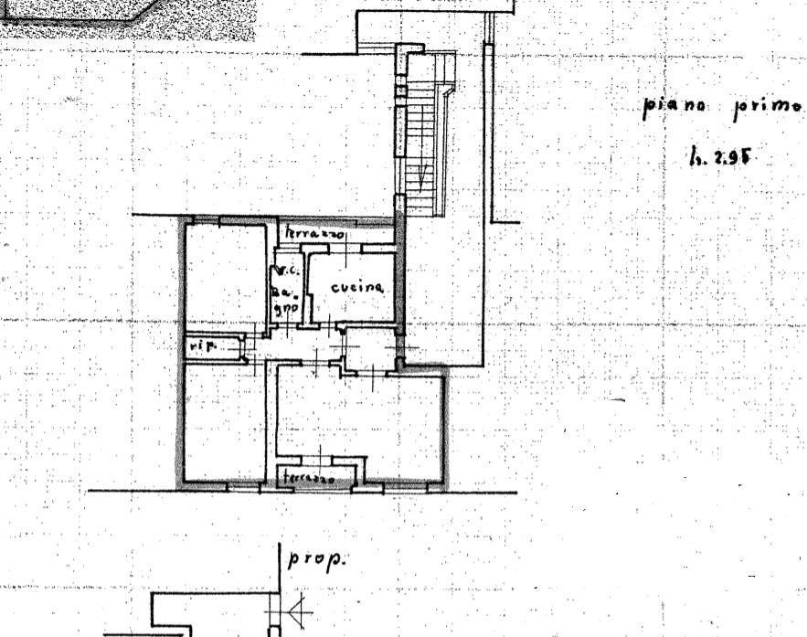 Planimetria 1/2 per rif. 531