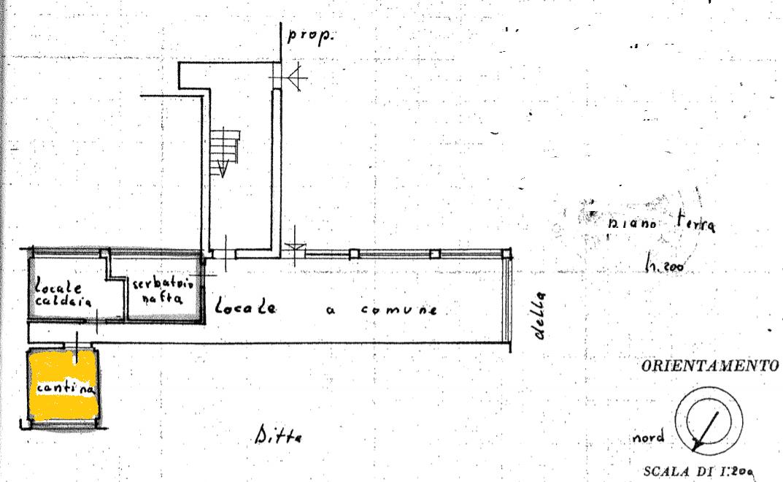 Planimetria 2/2 per rif. 531