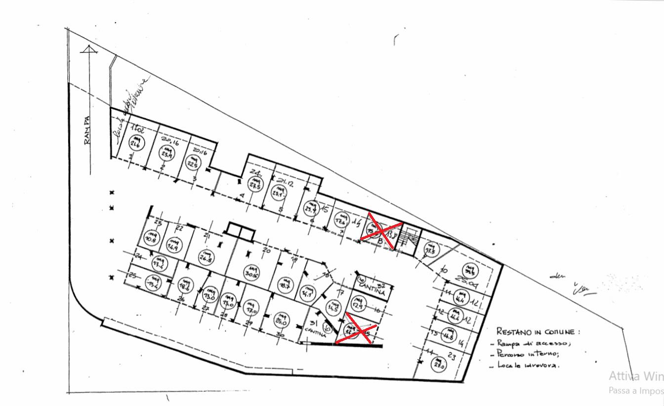 Planimetria 1/1 per rif. VG006
