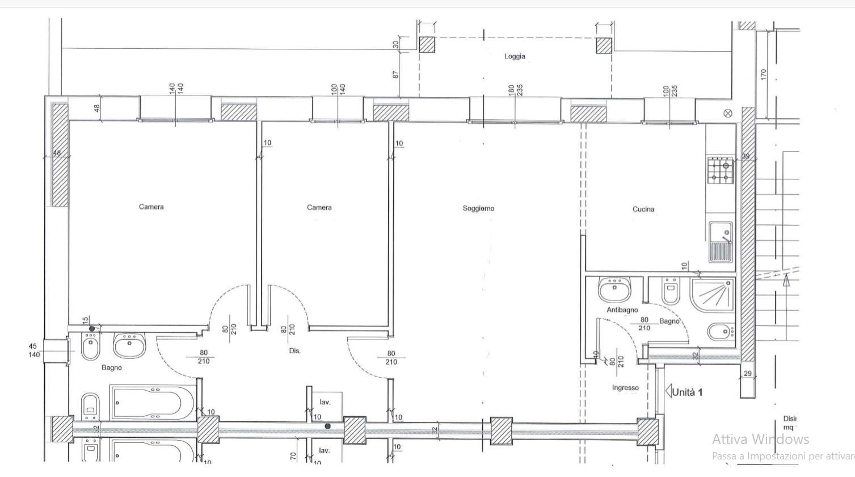 Planimetria 1/1 per rif. 533
