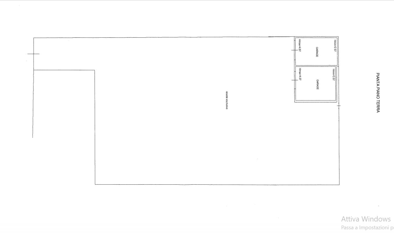Villa singola in vendita, rif. 536 (Planimetria 3/3)