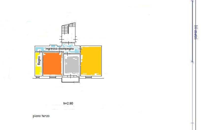 Planimetria 1/1 per rif. A455
