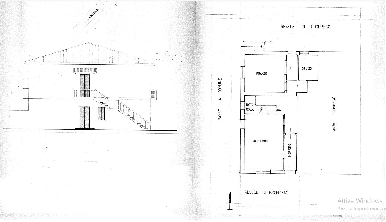 Planimetria 2/3 per rif. 539