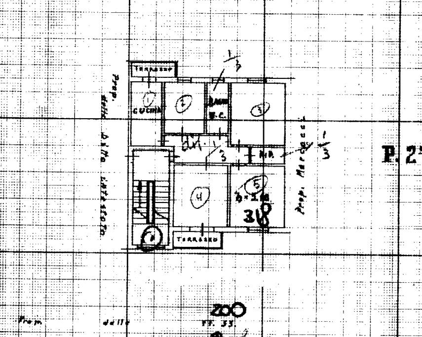 Planimetria 1/1 per rif. 548