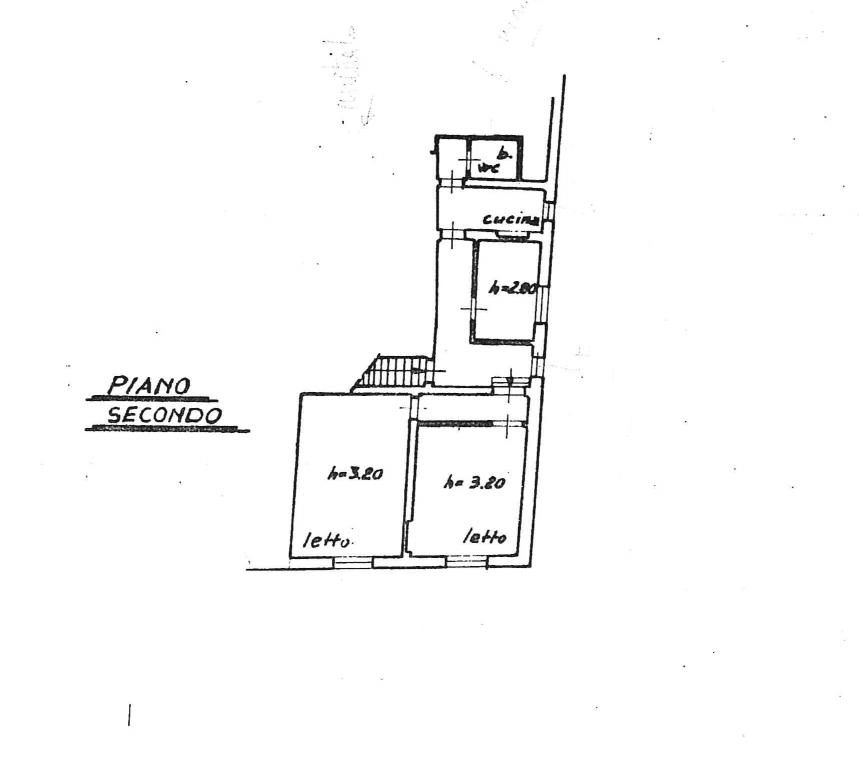 Planimetria 2/4 per rif. 550