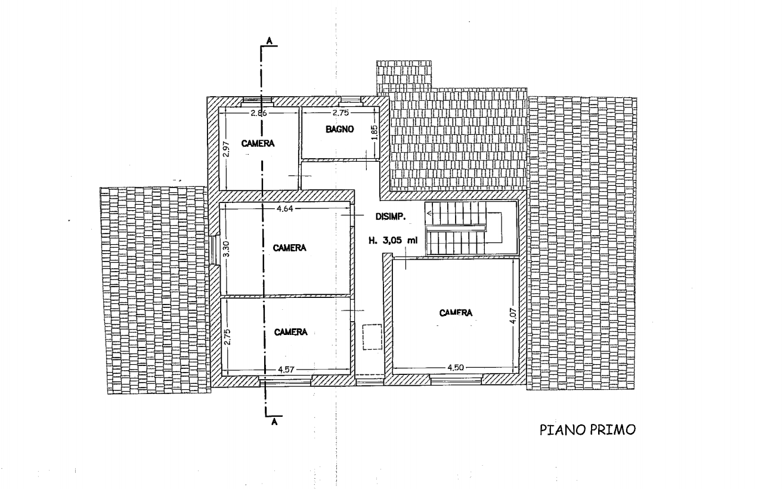 Planimetria 2/4 per rif. 552