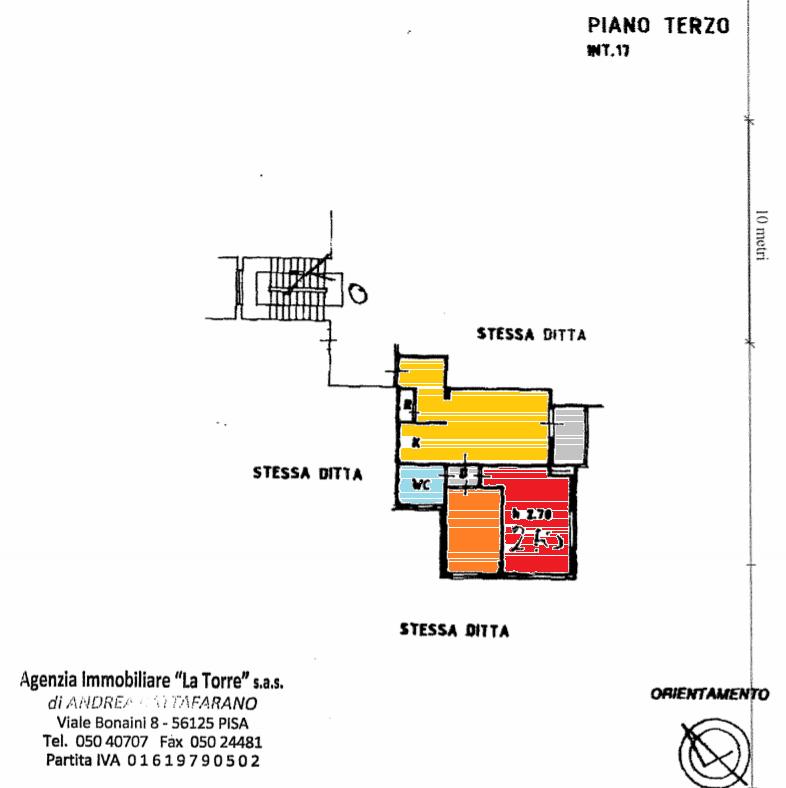 Planimetria 1/1 per rif. 559