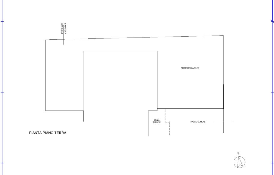 Planimetria 2/2 per rif. 560