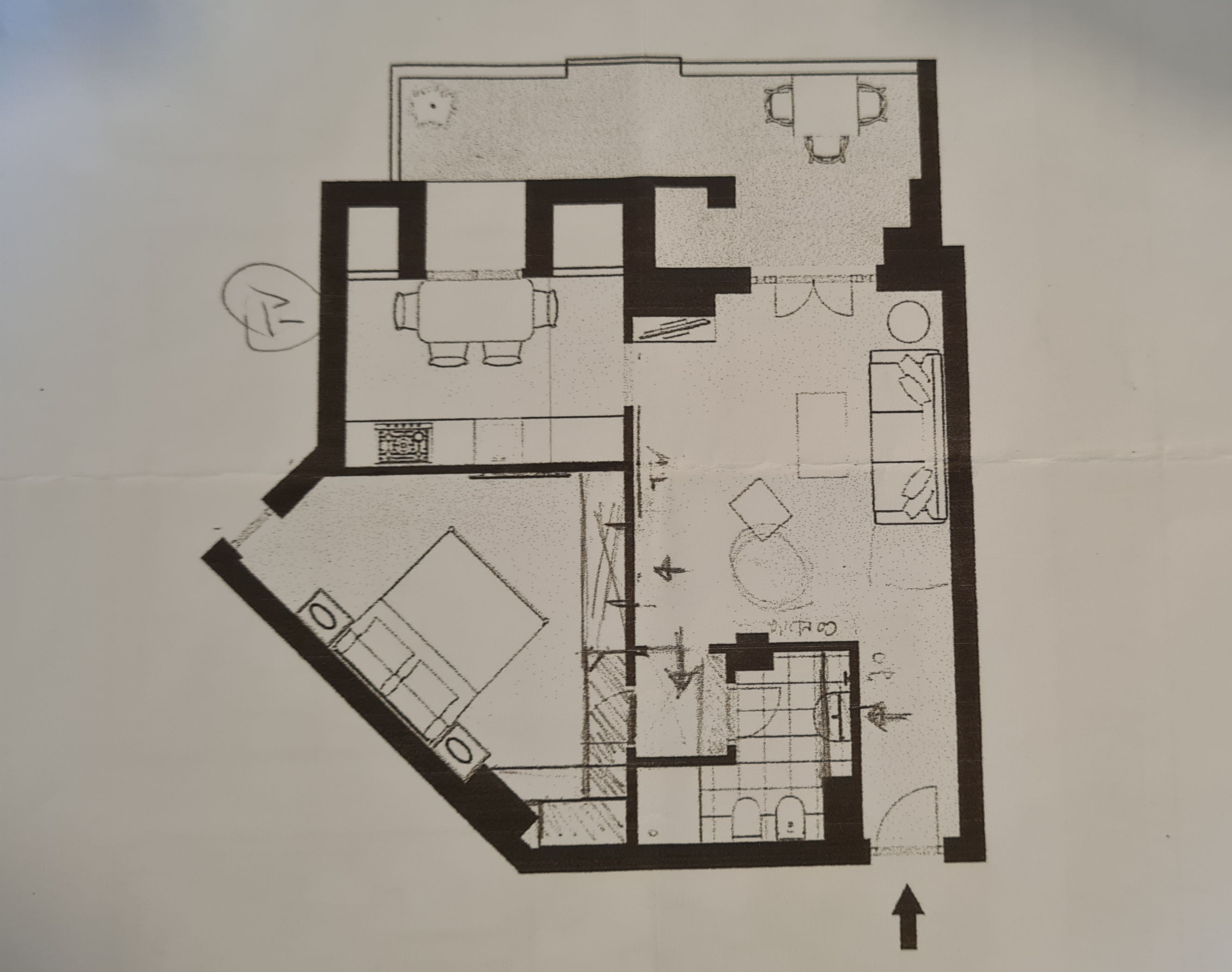 Planimetria 1/1 per rif. IA5750