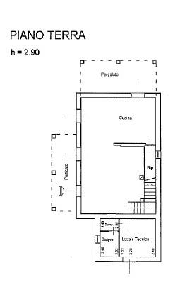 Planimetria 1/3 per rif. IA5751