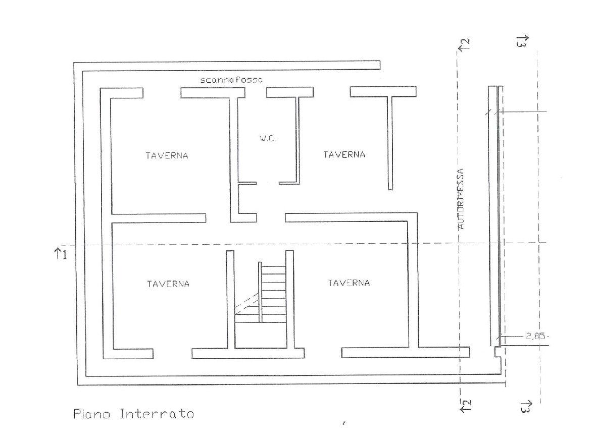 Planimetria 2/3 per rif. IA5095