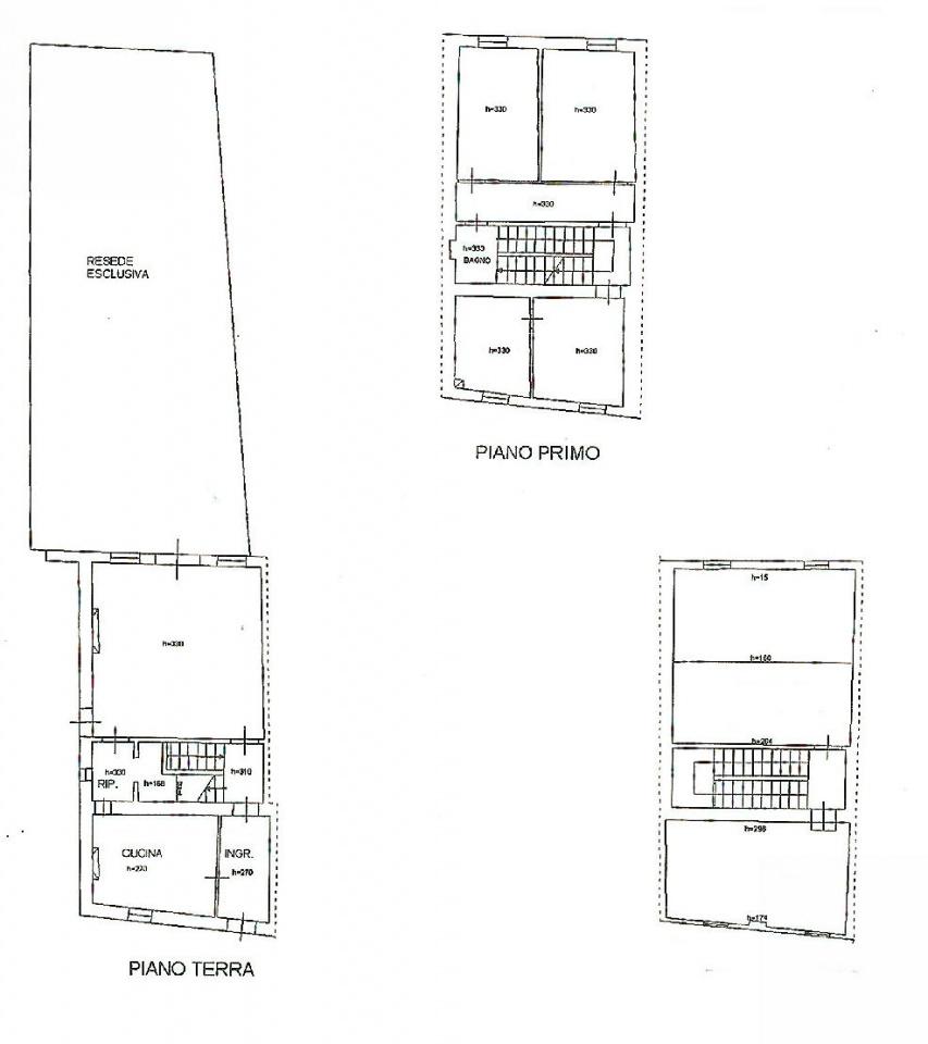 Planimetria 1/1 per rif. IA5075