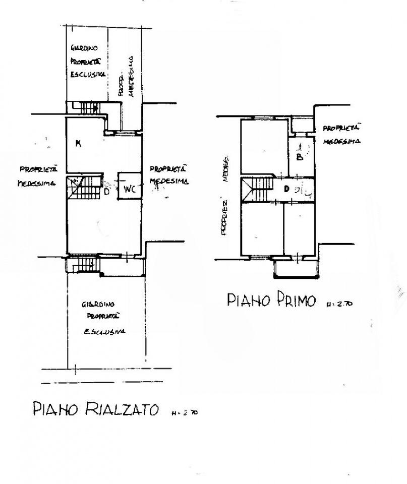 Planimetria 1/2 per rif. IA5067