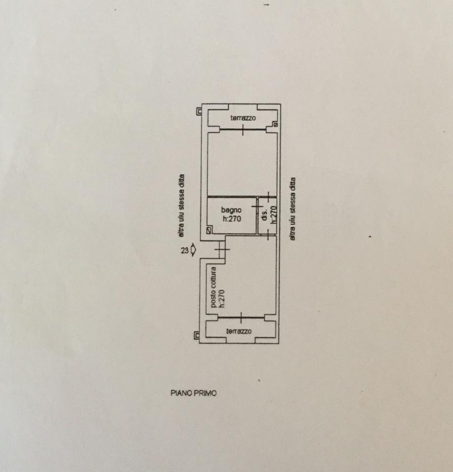 Planimetria 1/1 per rif. IA5050