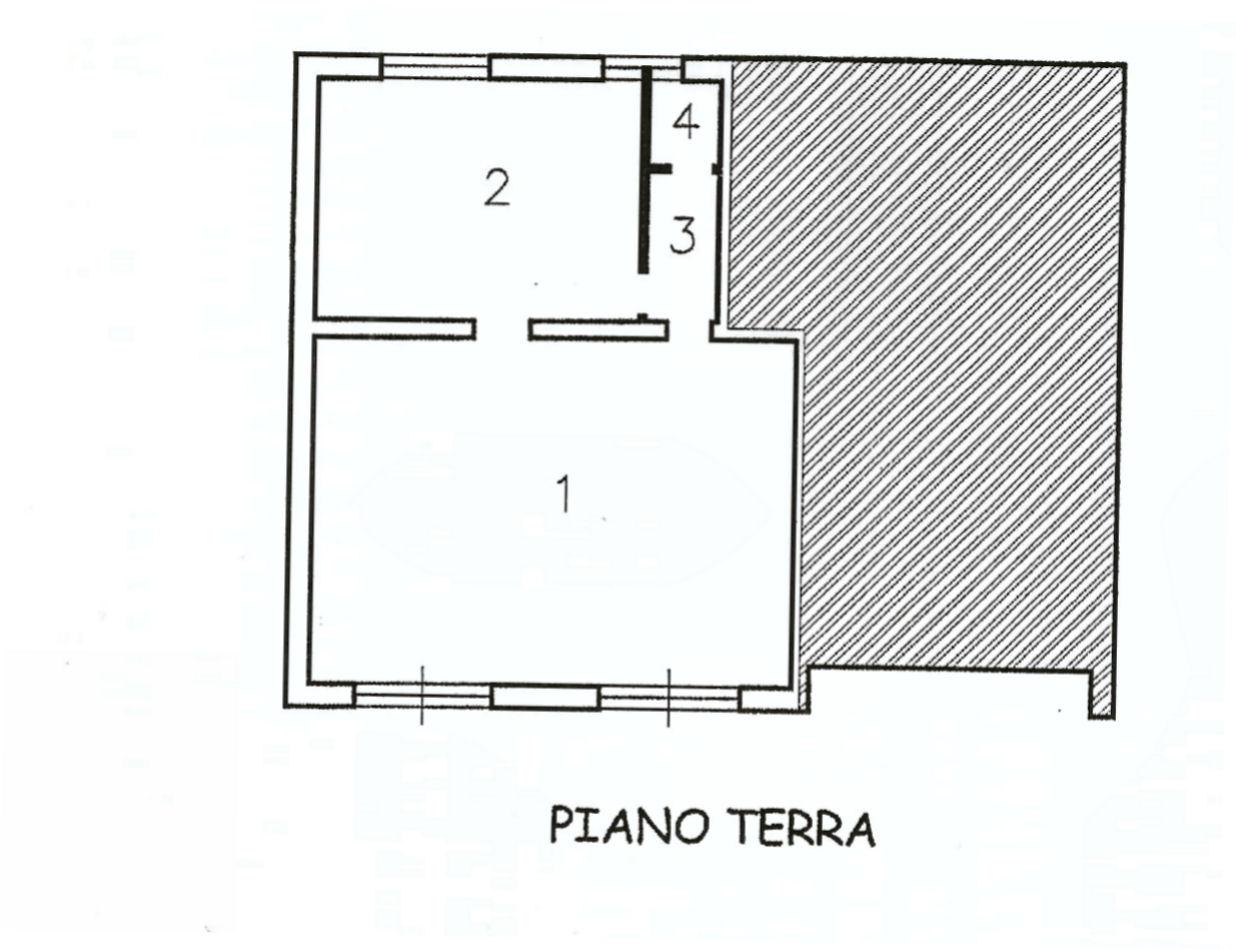 Planimetria 1/1 per rif. AF1835