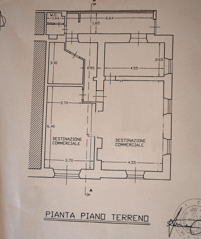 Planimetria 1/1 per rif. UF228