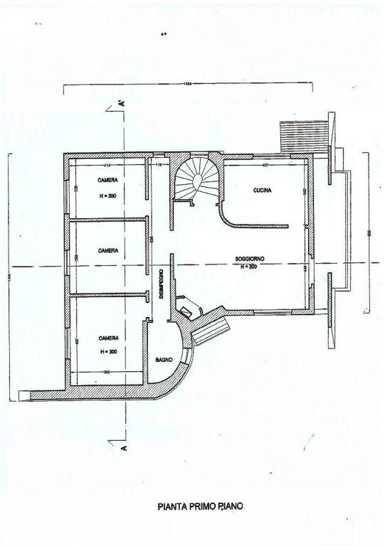 Planimetria 2/2 per rif. IA4915