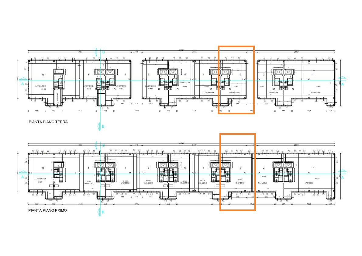 Planimetria 1/1 per rif. UF225