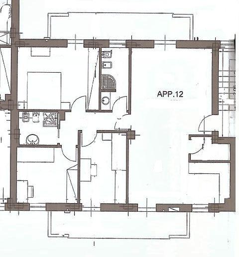 Planimetria 1/1 per rif. IA4850