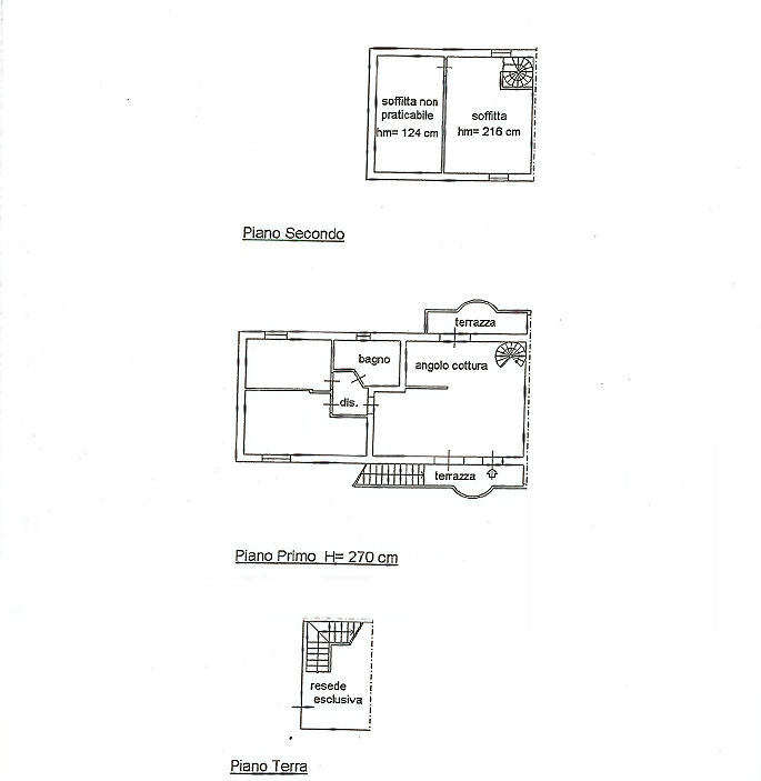 Planimetria 1/1 per rif. IA4846