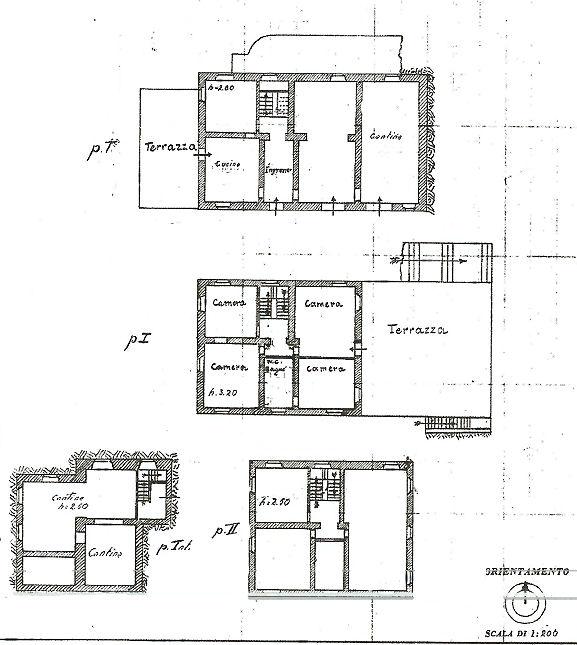 Planimetria 1/1 per rif. IA4843