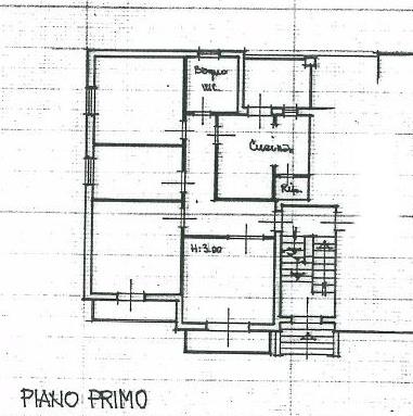 Planimetria 1/1 per rif. IA4776