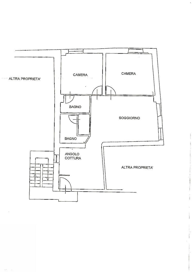 Planimetria 1/1 per rif. IA4747