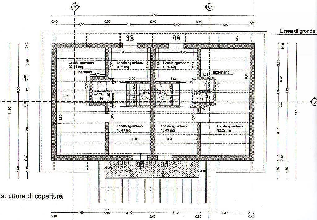 Planimetria 3/4 per rif. IA4731