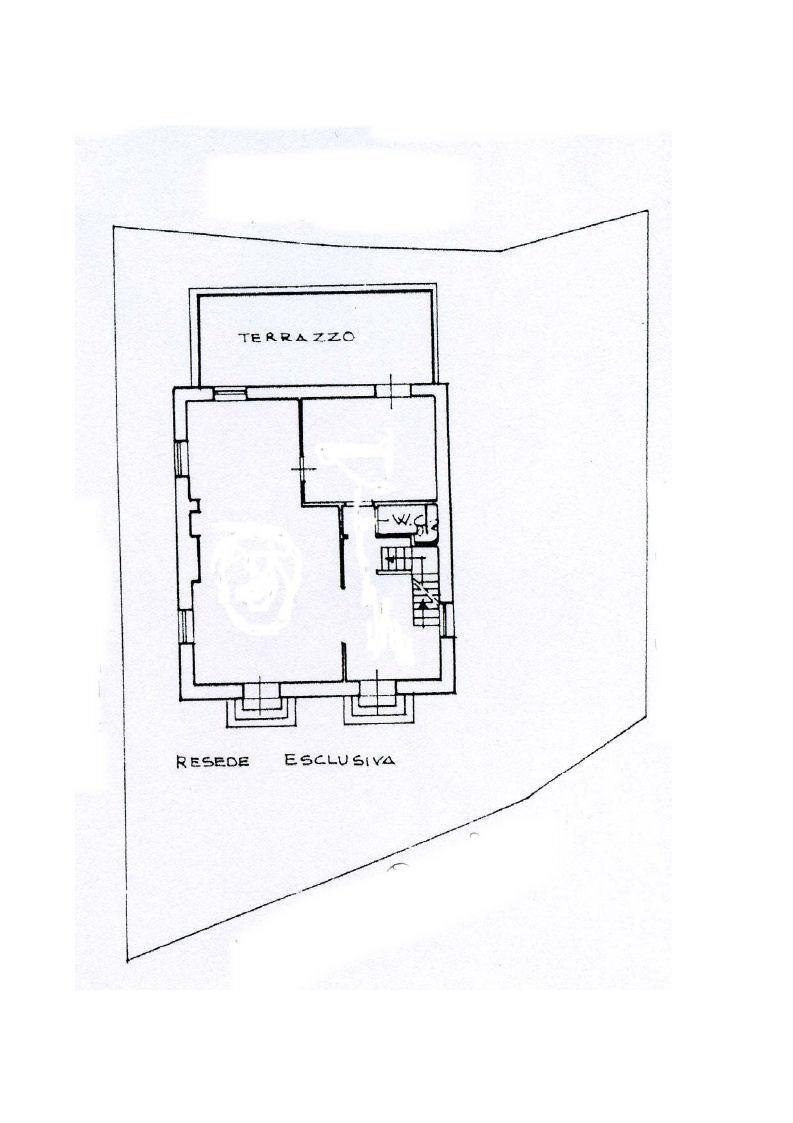 Planimetria 1/4 per rif. IA4708