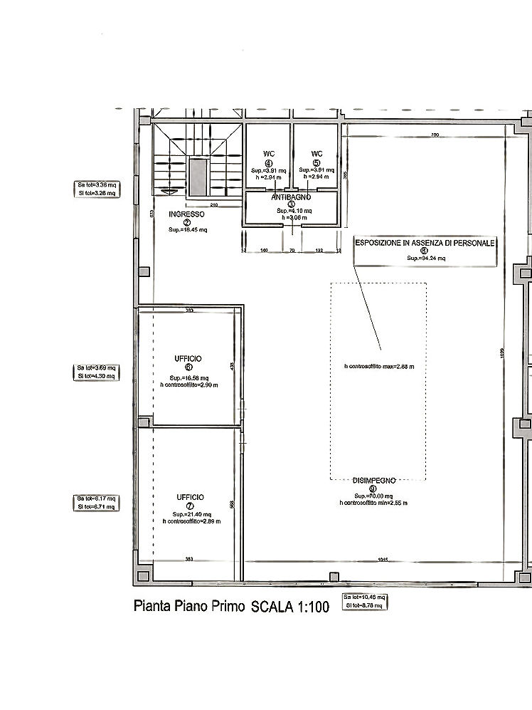 Planimetria 1/1 per rif. AF1724