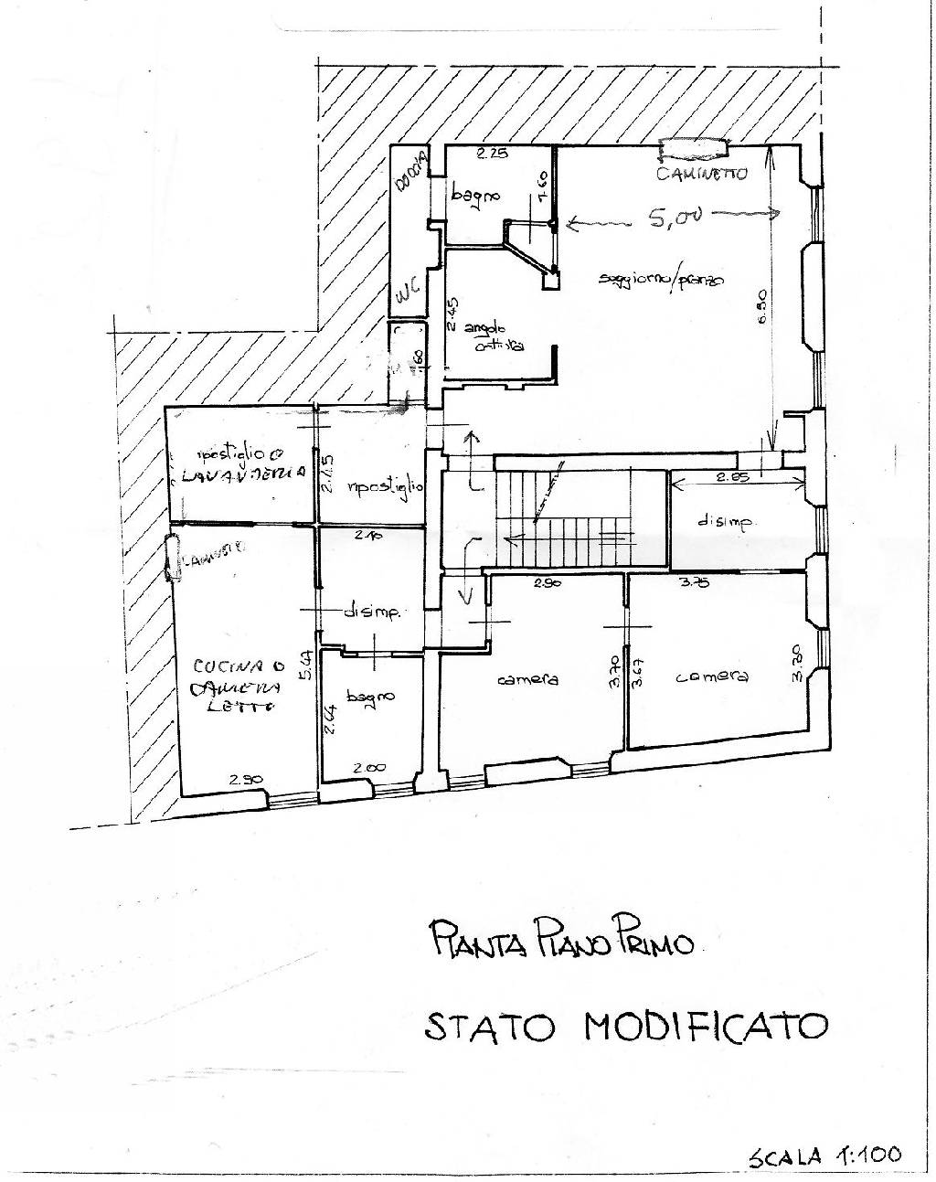 Planimetria 1/1 per rif. IA1922
