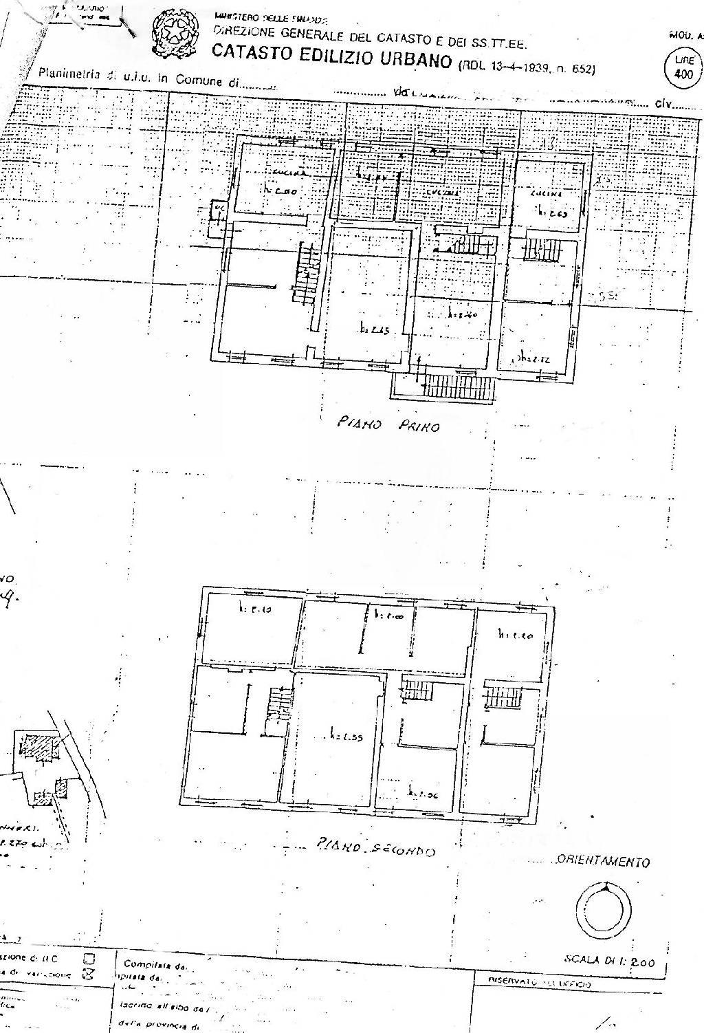 Planimetria 1/2 per rif. IA1671
