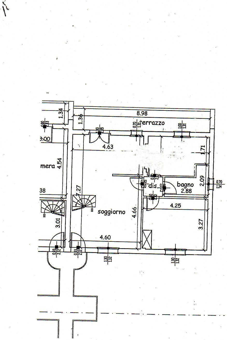 Planimetria 1/2 per rif. IA4425