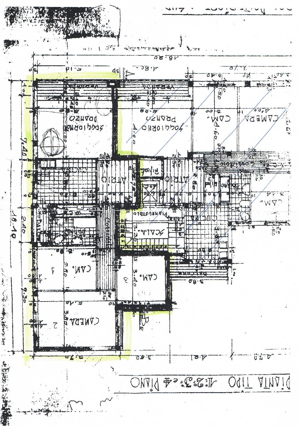 Planimetria 1/1 per rif. IA4283