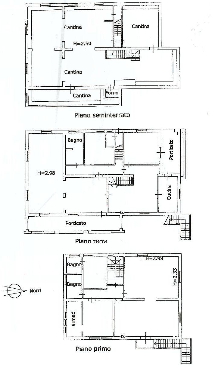 Planimetria 1/1 per rif. IA5121
