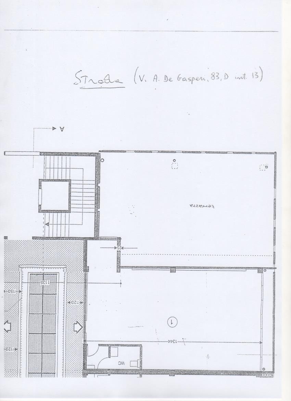 Planimetria 1/1 per rif. AF5125