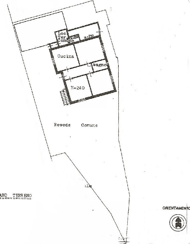 Planimetria 1/2 per rif. IA5163