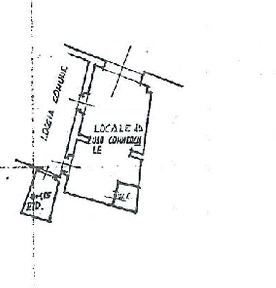 Planimetria 1/1 per rif. AF5172