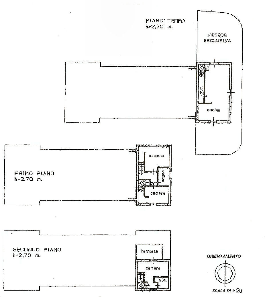 Planimetria 1/1 per rif. IA5177