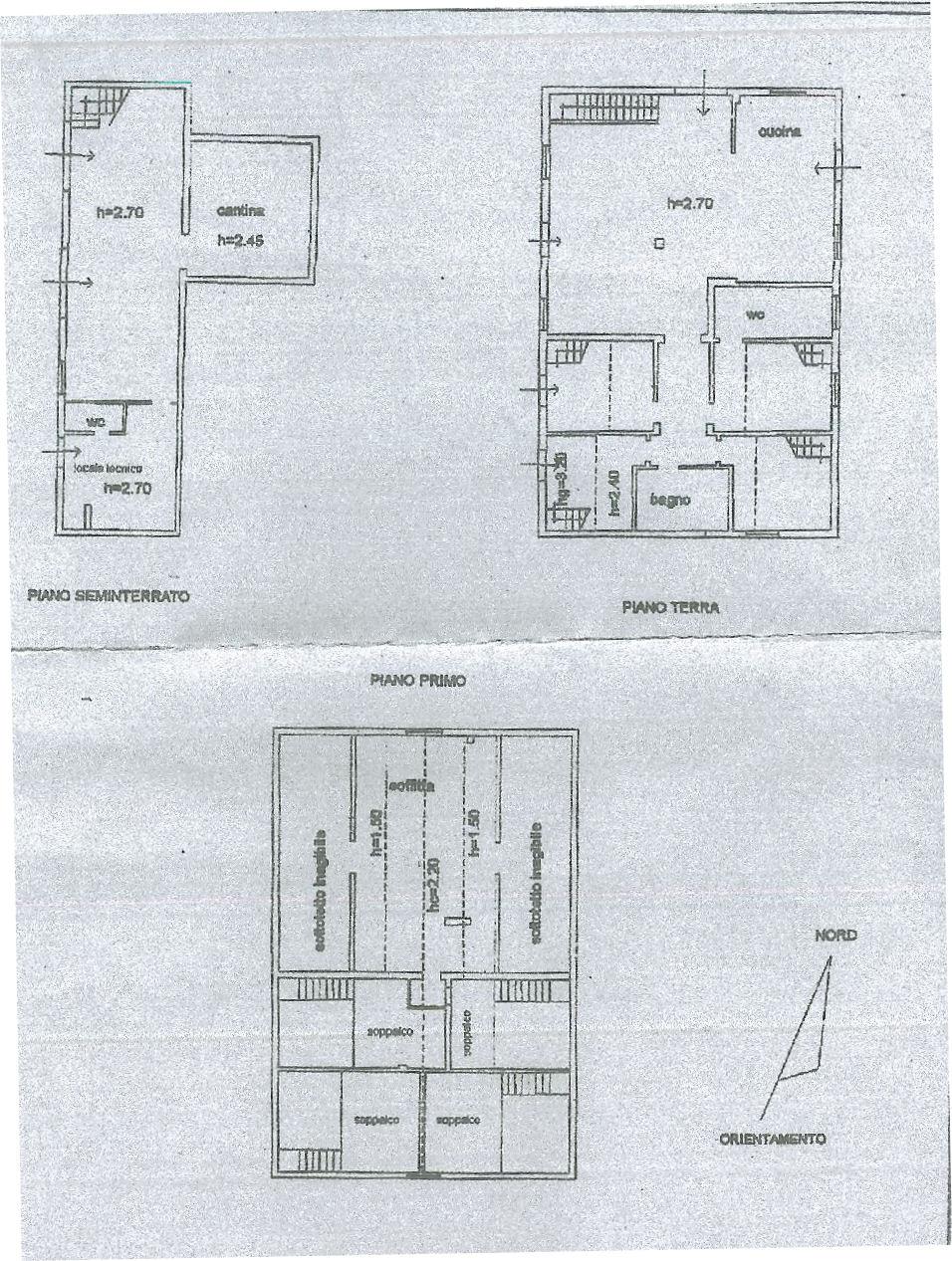 Planimetria 1/1 per rif. IA5179