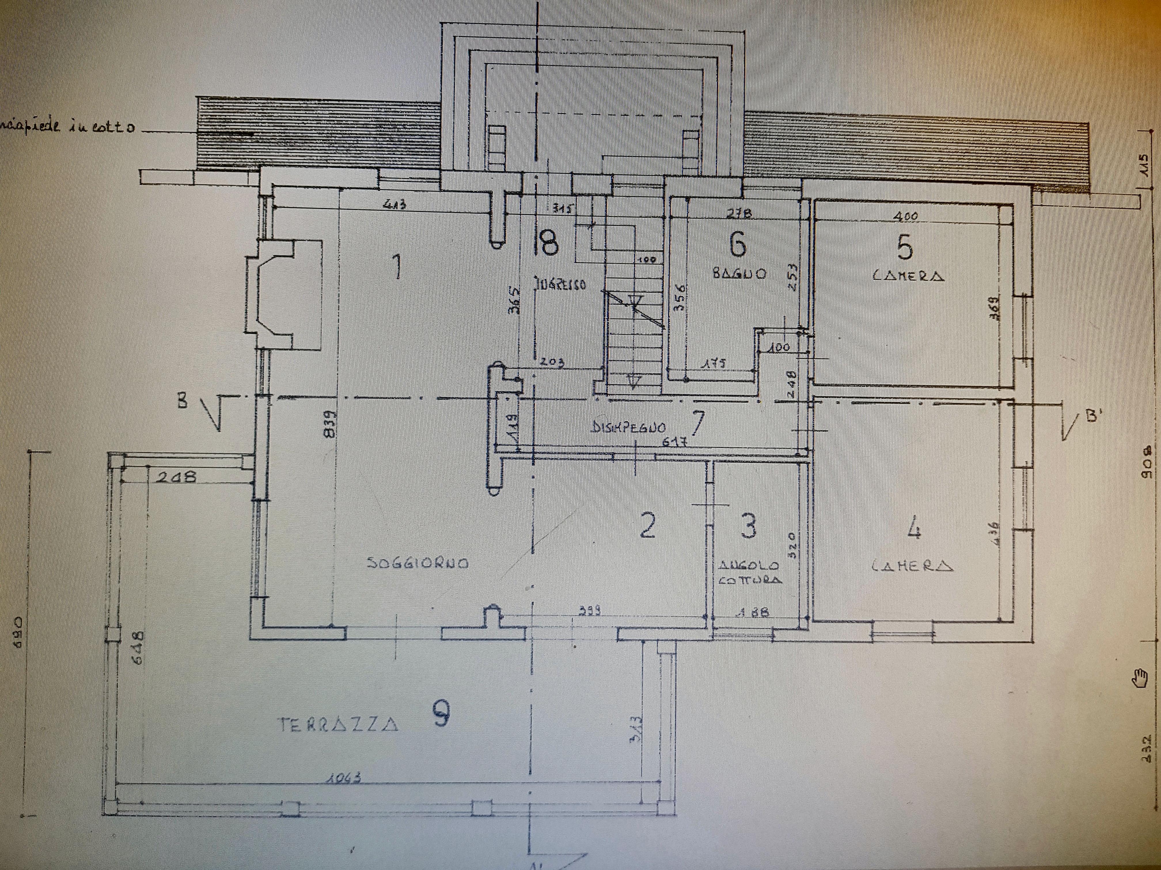 Planimetria 1/1 per rif. IA5184