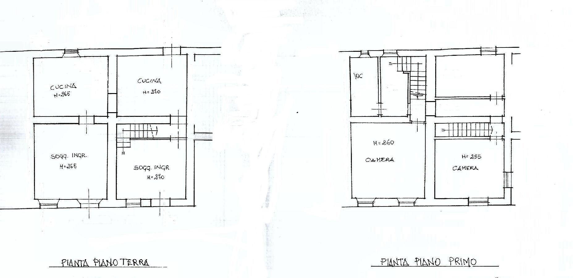 Planimetria 1/2 per rif. IA5192