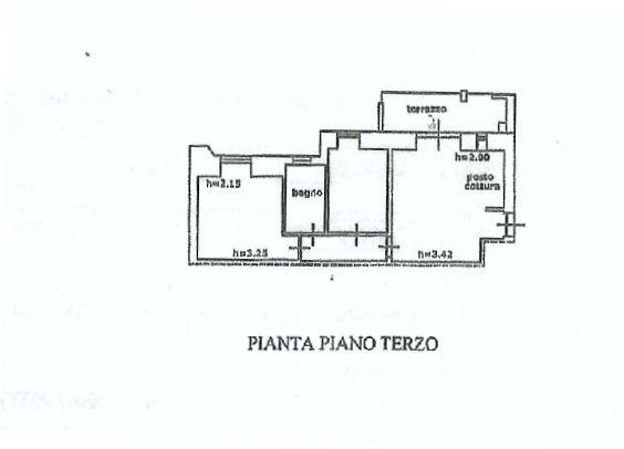 Planimetria 2/2 per rif. IA5198