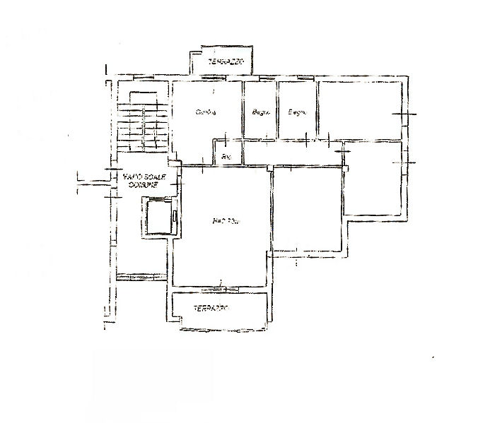 Planimetria 1/1 per rif. IA5208