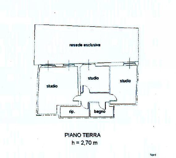 Planimetria 1/1 per rif. UF5212