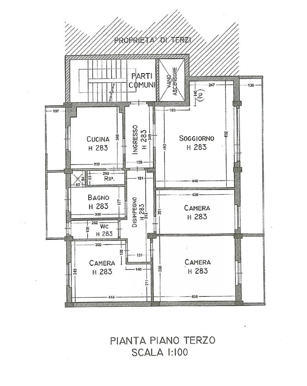 Planimetria 1/1 per rif. IA5225