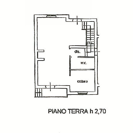 Planimetria 1/3 per rif. IA5232