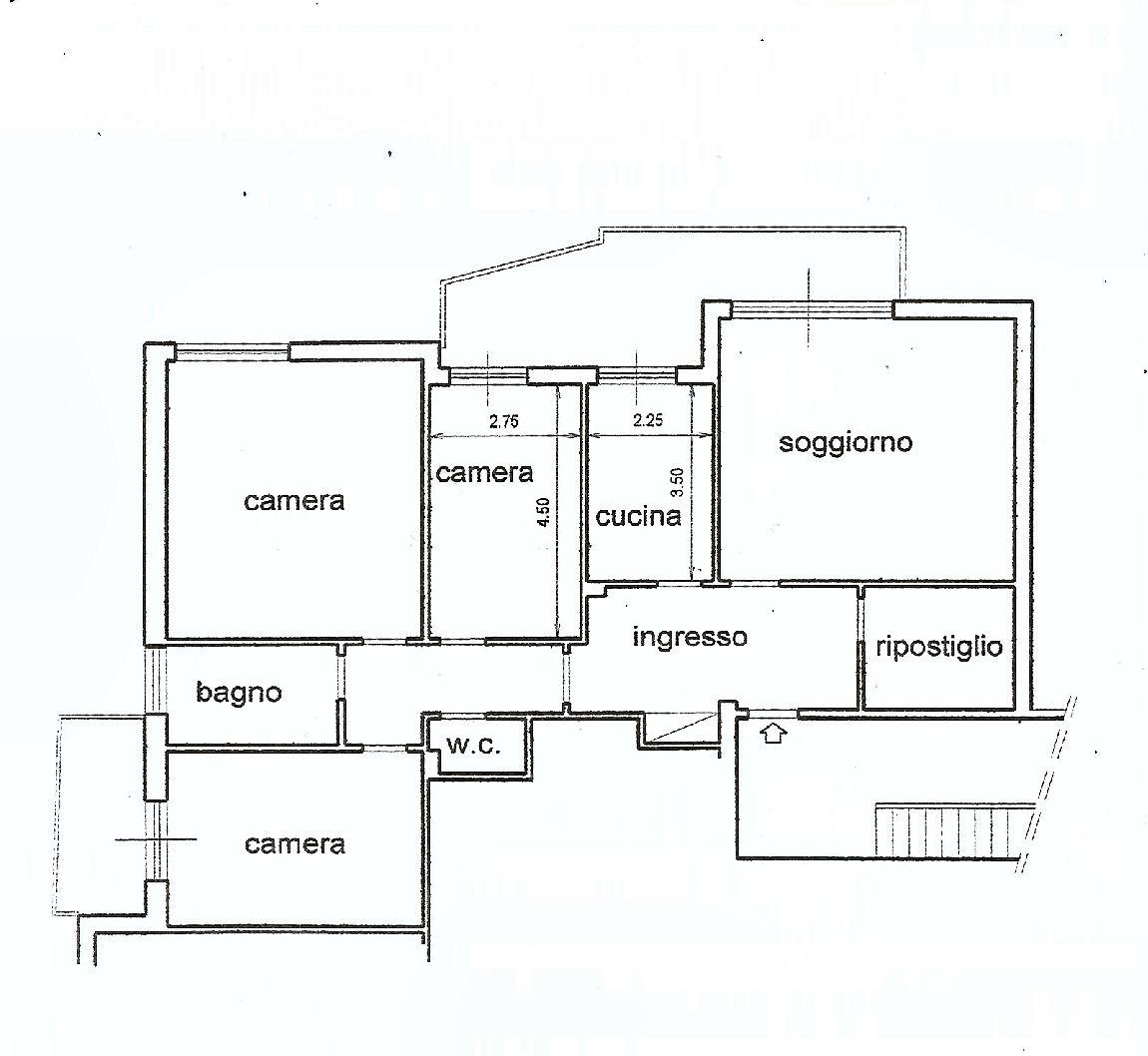 Planimetria 1/1 per rif. IA5237