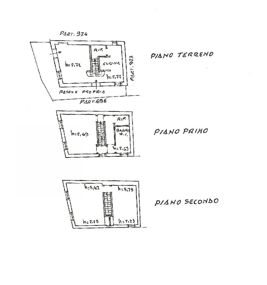 Planimetria 1/1 per rif. IA5258