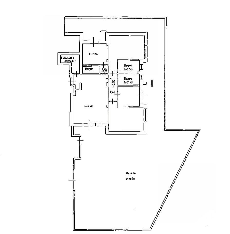 Planimetria 1/1 per rif. IA5267
